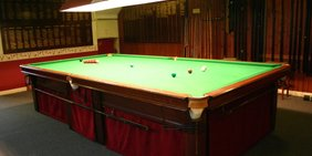 The full size snooker table is available for use by all of our members and their guests.